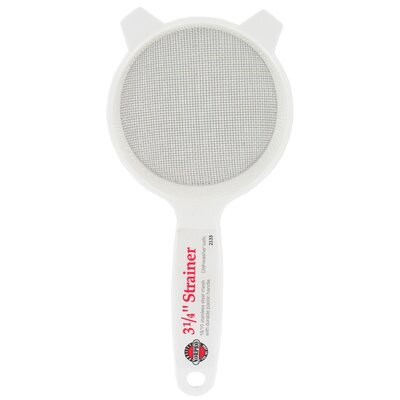 Norpro Stainless Steel Strainer With Plastic Handle