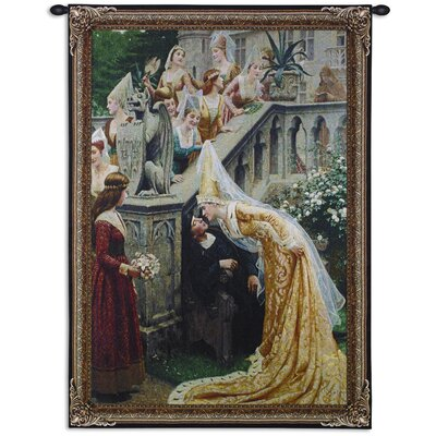 Fine Art Tapestries Kiss by Lord Leighton Tapestry