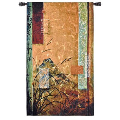 Fine Art Tapestries Volcano Bamboo Tapestry