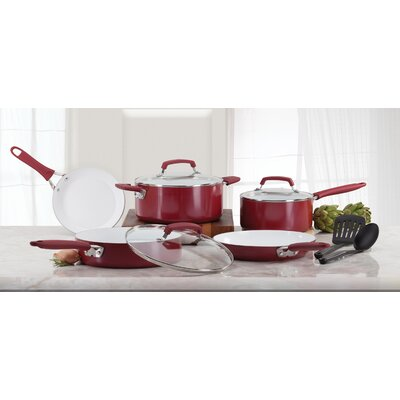 Pure Living 10 Piece Cookware Set by WearEver