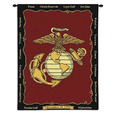 Pure Country Weavers Marine Corp Tapestry
