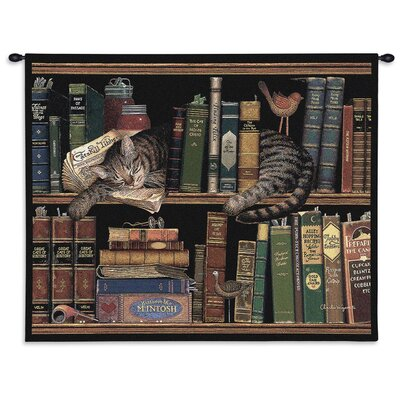 Pure Country Weavers Max in the Stacks Tapestry