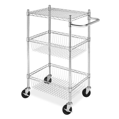Tier Commerical Basket Utility Cart by Whitmor, Inc