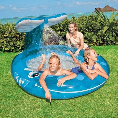 "Intex Round 13"" Deep Spray 'n Splash Whale Pool"