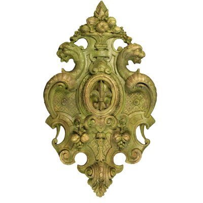 Victorian Crest Wall Decor by OrlandiStatuary