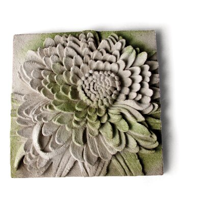 Chrysanthemum Plaque Wall Décor by OrlandiStatuary