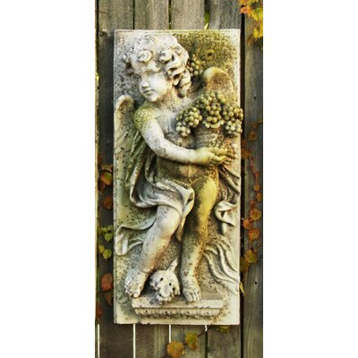 Little Boy Summer Plaque Wall Decor by OrlandiStatuary