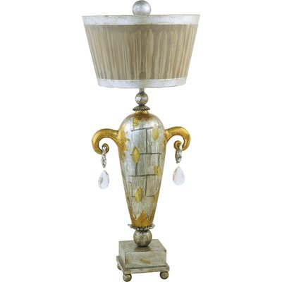 """Flambeau Lighting Amphor Luxe 36"""" H Table Lamp with Empire Shade"""
