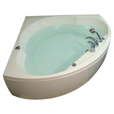 "Cleopatra 61"" x 61"" Soaking Bathtub Product Photo"