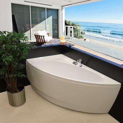 """Idea 59"""" x 25.25"""" Soaking Bathtub Product Photo"""