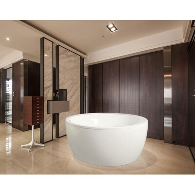 "Pamela 68"" x 68"" Soaking Bathtub Product Photo"