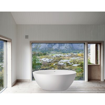 "Sensuality 66.5"" x 33"" Soaking Bathtub Product Photo"