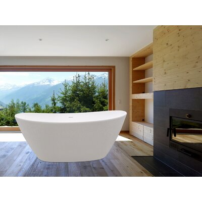 "PureScape 64"" x 34"" Soaking Bathtub Product Photo"