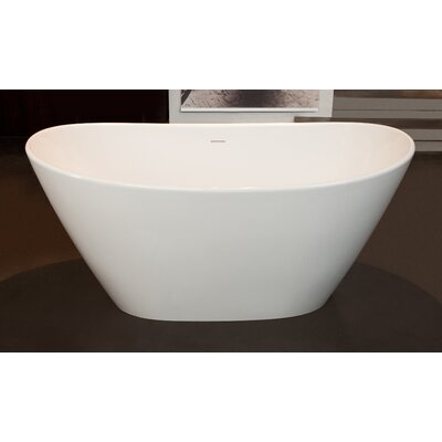 "PureScape 63"" x 33.5"" Soaking Bathtub Product Photo"