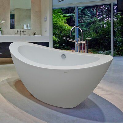 "PureScape 65"" x 30"" Soaking Bathtub Product Photo"