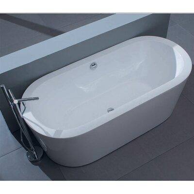 "Aquatica PureScape 59"" W 014 Freestanding Acrylic Bathtub"