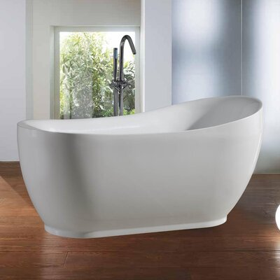 "PureScape 71"" x 36"" Soaking Bathtub Product Photo"