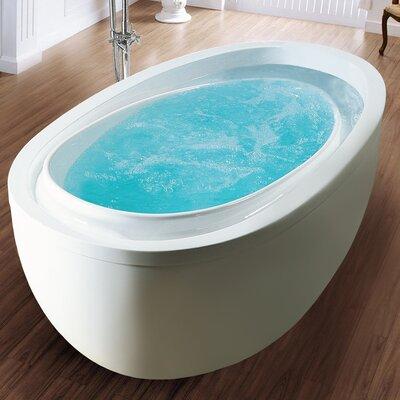 "PureScape Acrylic 76"" x 41"" Freestanding Bathtub Product Photo"