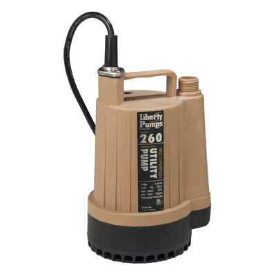 23 GPM Submersible Utility Pump by Liberty Pumps