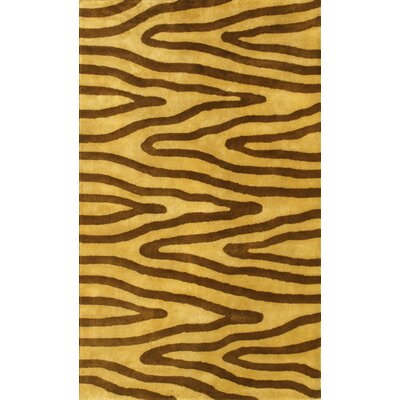 Noble House Eleen Light Gold/Brown Area Rug