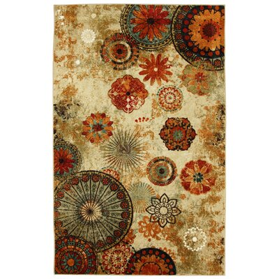 Mohawk Home Outdoor Patio Alexa Medallion Outdoor Area Rug