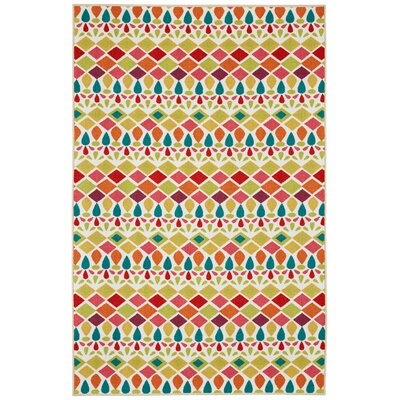 Aurora Tao Yellow Area Rug by Mohawk Home