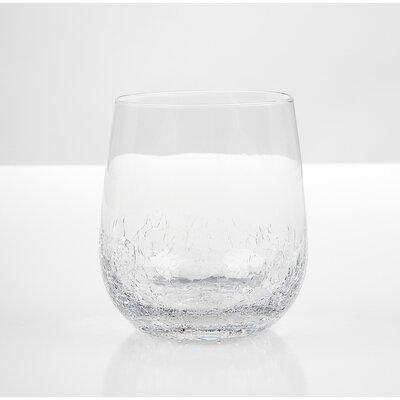 IMPULSE! Crackle Rock Old Fashioned Glass