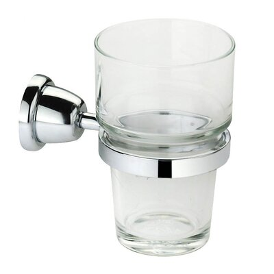 Cantori Wall-mount Clear Glass Tumbler by Artos