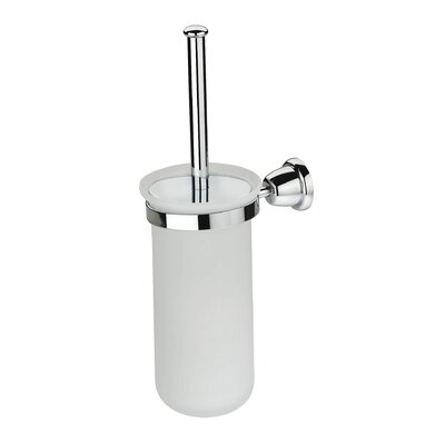 Artos Cantori Wall-mount Frosted Glass Toilet Brush Holder