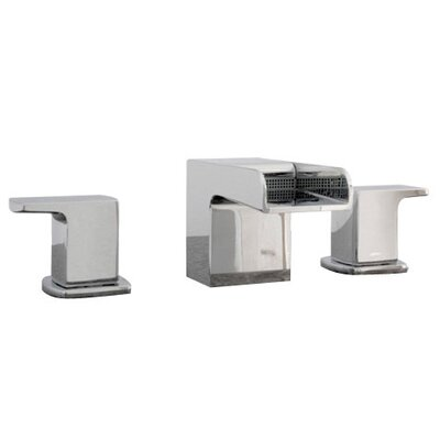 Kascade Widespread Bathroom Sink Faucet with Cold and Hot Handles Product Photo