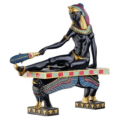 Cleopatra the Egyptian Queen Statue by Design Toscano