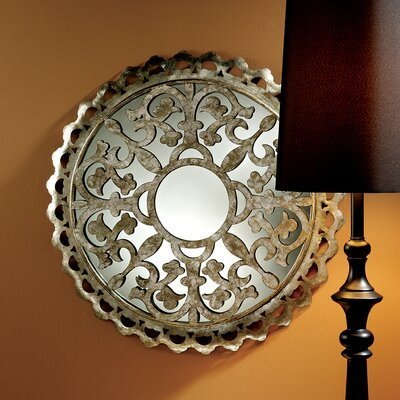 Fleur de Lis Filigree Wall Mirror by Design Toscano