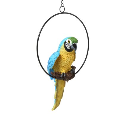 Design Toscano Polly in Paradise Parrot Statue