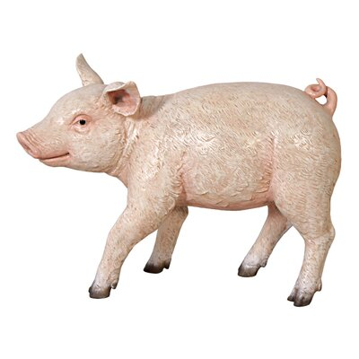 Piglet Porker, Baby Hog Sculpture by Design Toscano