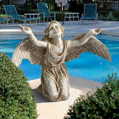 Heavens Devotion Angel Statue by Design Toscano