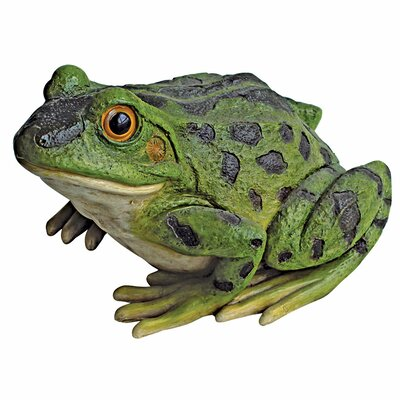 Rabbit the Frog Garden Toad Statue by Design Toscano