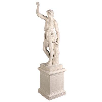 Heracles with Nemean Lion Pelt Garden Statue by Design Toscano