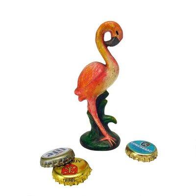 Flamingo Cast Iron Bottle Opener by Design Toscano