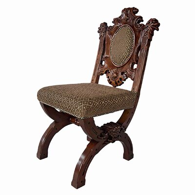 Sir Raleigh Medieval Side Chair by Design Toscano