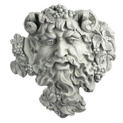 Bacchus God of Wine Greenman Wall Decor by Design Toscano