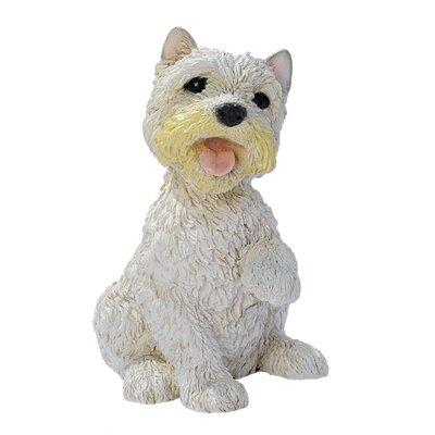 Design Toscano West Highland Terrier Puppy Dog Figurine