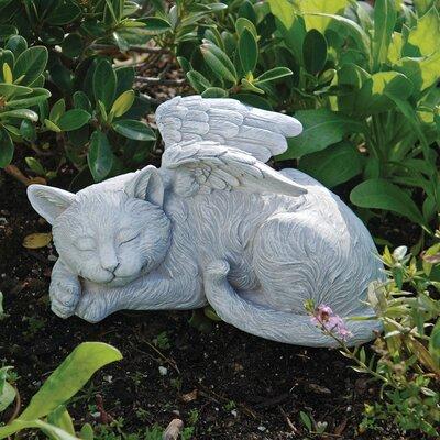 Cat Memorial Angel Pet Statue by Design Toscano