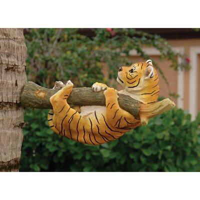 Up a Tree Tiger Cub Statues by Design Toscano