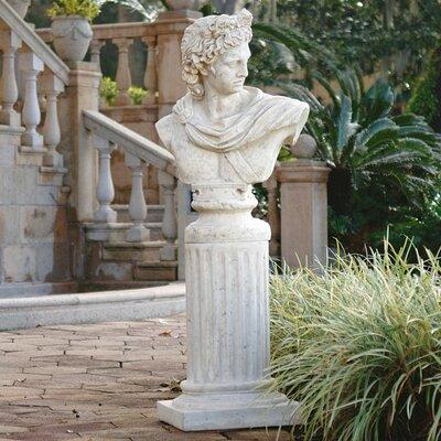 Design Toscano Apollo Belvedere Bust and Plinth Statue