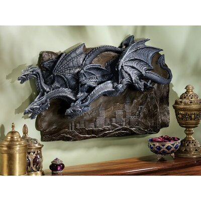 Design Toscano Morgoth Castle Dragons Wall Décor