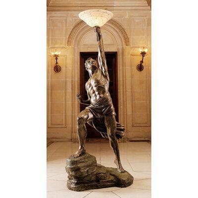 Design Toscano Prometheus Sculptural Floor Lamp