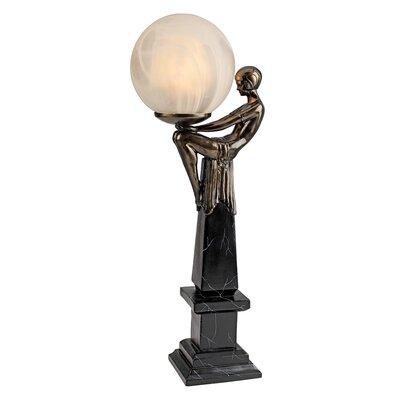 Design Toscano Goddess of the Stars Art Deco Illuminated Figurine