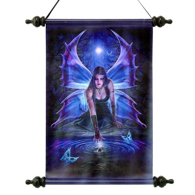Immortal Flight Gothic Fairy Graphic Art on Canvas by Design Toscano