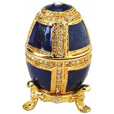 Design Toscano Anya Faberge Style Collectible Enameled Egg
