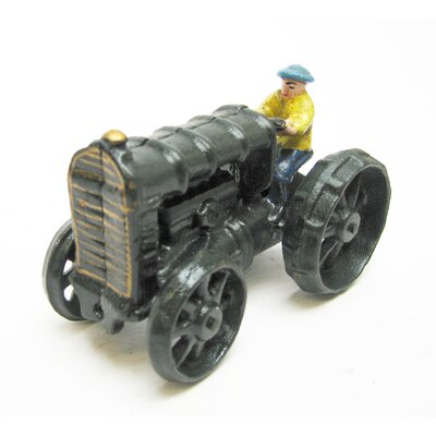 Fordson Replica Farm Toy Tractor Sculpture by Design Toscano